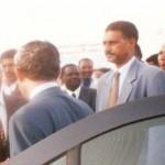 حارس شخصي للرئيس الموريتاني يتحول إلى بواب (صورة )