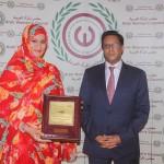 المجلس القومي للمرأة العربية يكرم أبرز وزيرات موريتانيا