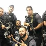 الشرطة تلتقط صور سيلفي مع أحد أباطرة المخدرات