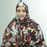"""تعرض صحفية في التلفزة الموريتانية لاصابة بليغة """"صورة"""""""