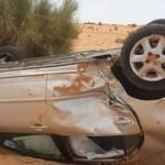 حادث سير مروع يودي بحياة شخص