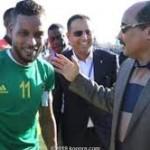 ولد عبد العزيز يسافر إلى مصر لحضور مباريات المرابطون