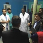 """رغم الجفاء الدبلوماسي : وفد قطري يتفقد مستشفى حمد في بتلميت """"صور"""""""