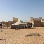 """مسؤول موريتاني يتضامن مع أحد ضحايا عصابات السرقة """"صورة"""""""