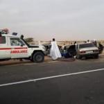 وفاة شخص وسقوط آخرين في حادث سير أليم على طريق الأمل