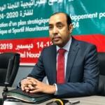رئيس اللجنة الأولمبية الموريتانية عبدالرحمن ولد عثمان