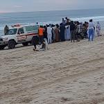 """غرق طفل في شواطئ نواكشوط وسط تفرج الحضور """"صورة"""""""